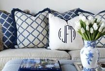 <>Blue-White for home