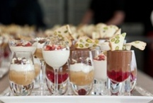 Taster Puddings / Miniature puddings presented in a selection of beautiful glasses.   / by bywordofmouthuk