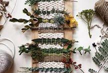 Holidays - Christmas Gifts II - weaving and needle arts
