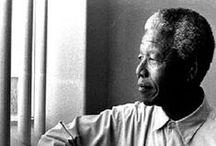 Nelson / Nelson Mandela. Als leidsman op een lange weg naar vrede.