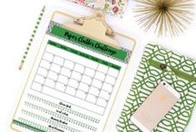 I Heart Planners Blog / Hi, my name is Laura, and I'm here to share all about organizing, planners, and printables! These are the best posts from I Heart Planners.