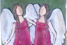 painted angels
