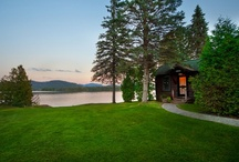 Accommodations / by Lake Placid Lodge