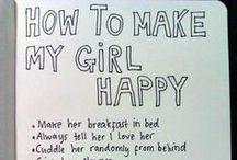 How to make my GF happy
