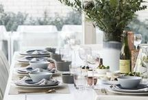 Table Decoration / Creating the mood....#tablescapes #tabletop #flatware #crockery #glassware #interiordesign