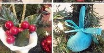 Seasonal: Christmas Decor/Crafts/Entertaining/Activities / Christmas Crafts, Ornaments, Decor and Holiday Entertaining Ideas