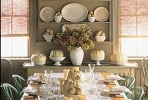 Fall Colors and Decor / Thanksgiving Decor, Fall Decor, Pumpkins, Squash, Fall Flowers ETC...