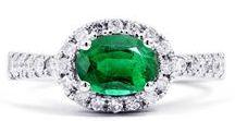 DB | Emerald Engagement rings