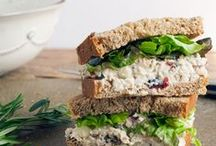 cookbook :: salads and sandwhiches