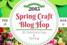 SCBH2015~ # 2 St Patrick's Day & General Spring Crafts / Spring Crafts from the Spring Craft Blog Hop 2015 #SCBH2015