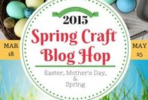 SCBH2015~ # 3 / Crafts from the Spring Craft Blog Hop 2015 (Easter, Earth Day, May Day, Mother's Day, Cinco de Mayo, Teacher's Day and Spring Time Crafts) #SCBH2015