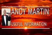Andy Martin - Useful Information / Discover the Magical Voice of Andy Martin Versatile singer from Chester UK. Join his International Fan Club https://www.facebook.com/groups/andymartinfanclub