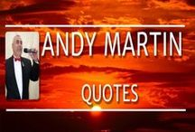 Andy Martin - Quotes etc / Discover the Magical Voice of Andy Martin Versatile singer from Chester UK. Join his International Fan Club https://www.facebook.com/groups/andymartinfanclub