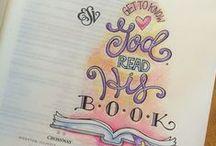 The ART of Bible Journaling / Beautiful Bible journaling!