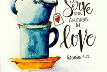 LOVE God's People / How can we love one another as Jesus says in John 13:34-35? Let us count the ways...