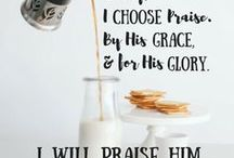 Worship the LORD / Praise the God who IS