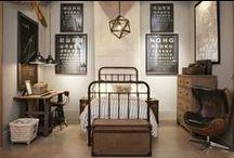 Vintage Military Bedroom