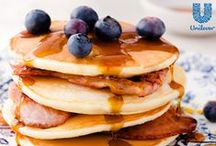 Making Breakfast Better / Quick & easy breakfast (or breakfast for dinner!) ideas the whole family'll eat up. We've got pancakes, muffins, eggs recipes and more. / by UnileverUSA
