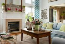 Home Decorating ~ Living Rooms / by Darci Brown