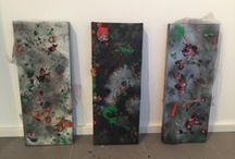 My Art / Abstract Mixed Media on Canvas / by Chelsea Bowman