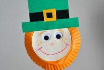 St. Patrick's Day / Follow us to the end of the rainbow for some green treats and crafts perfect for your little leprechauns. / by UnileverUSA