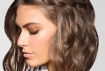 Hair & Make Up / Peinados para cabello ondulado y Maquillaje para piel apiñonada