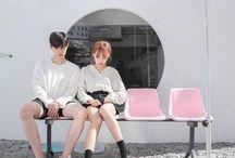 〔  couple  〕