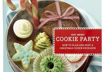 Cookie Exchange ideas / Cookies by the dozens, cookies by the pound, in all shapes and sizes (my favorite ones are round)!  You can eat them at the party, right by the Christmas tree, or take them home for breakfast, 'cause that's okay by me. / by Lisa Seitz