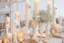 Tablescapes / ...and the table was set so perfectly... / by Lisa Seitz