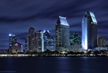 San Diego, California / In the city that I live and love. Home.