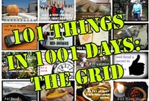 101 Things in 1001 Days/Bucket List / I am completing 101 things in 1001 days. I am also pinning fun things to try for a bucket list. / by Marcy L