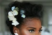 HAIR ~ inspiration / mosty... Braids | Twists | Buns || Hair Styles I'd like to recreate or modify...somehow
