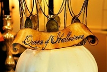 Queen of Halloween / It is my dream to one day create the best Halloween party ever!  I want to decorate my house from top to bottom!!! / by Emmy Voss
