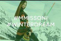 #MMissoni #Winterdream / Thanks to your pins the #MMissoni #Winterdream board has become extraordinarily nice! Be the MMissoni Snow Catcher and have a Happy Pinning!  / by M Missoni