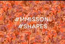 #MMissoni #Shapes / Great work pinners! Thank you for your precious contribution to the M Missoni Flea Market Print description! Keep on following us!   / by M Missoni