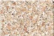 Granite Colors / A selection of Granite Transformations' exclusive granite countertops, which come with a lifetime warranty. They are non-porous, scratch resistant, stain resistant and virtually maintenance free.