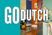Go Dutch / Go Big. Go Adventurous. Go Dutch. Create the home of your dreams with Dutch Boy Paints.