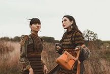 Postcards from Oxfordshire - #MMissoniTakesEngland / From October 9th thru October 11th, M Missoni hosted Natalie and Dylana Suarez in the beautiful countryside of England.  A picturesque backdrop consisting of shades of green, rustic reds and oranges from the autumn leaves as well as acres of meadowland and flower fields brought M Missoni's new Fall/Winter 2017 collection to life. Horseback riding, flower picking and beautiful hikes were among some of the activities that enriched each day spent in the country.