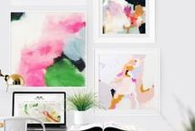 Wall Art Ideas / by IHeart Organizing, LLC