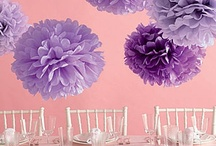 Party Ideas / Collection of decoration ideas & other inspirations.  / by Jessikat03