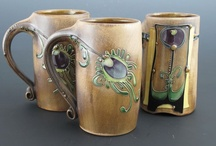Art:  moving off Clay Cups, Mugs, Tumblers, Goblets / by Sandy Meadors
