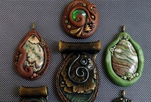 Art:  Clay...Pendants, Medallions, Beads / by Sandy Meadors