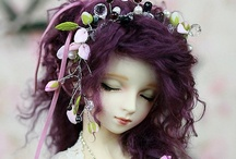 Art:  Dolls...Fantasy, Witches, Goddess  / Handmade art dolls  / by Sandy Meadors