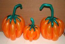 Halloween balloon figures