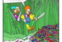 Balloon cartoons & comics / The funniest balloon related comics!