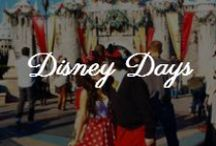 Style // Disney Days / Disneybound Schedule: Day 1 Mickey's Christmas Party [MK], Day 2 Lion King [AK], Day 3 Princesses [MK], Day 4 World Showcase [Epcot], Day 5 Frozen, Elsa [HS], Day 6 Alice in Wonderland [MK]. Simba, Aurora, France, Elsa, Alice. Kyle Shirts: Burgundy, Navy, Brown, Hunter Green, Black.