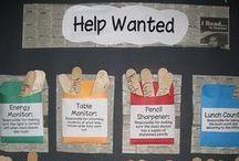 Classroom Organization - Job Charts