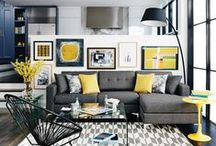 Pop of Color / Pops of colors for every room!
