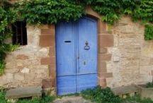 Portes - Doors / Les porte anciennes, artistiques ou traditionnelles de Brin de Cocagne, dans le Tarn et le Sud-Ouest