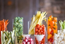 Healthy Party Food / Healthy, fun, and otherwise fabulous ideas for get-togethers.